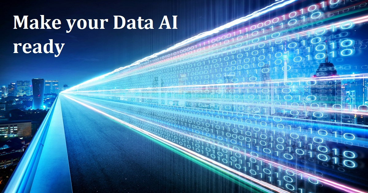 Make your Data AI ready