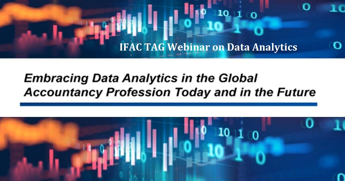 IFAC TAG Webinar on Data Analytics