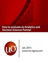 HOW TO EVALUATE AN ANALYTICS AND DECISION SCIENCES PARTNER